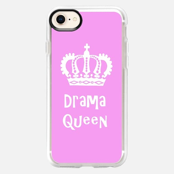 Drama Queen 5 Pink - Snap Case