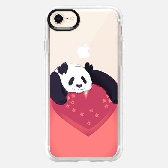 Sleeping panda - Snap Case