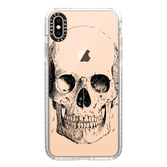iPhone XS Max Cases - Vintage Skull