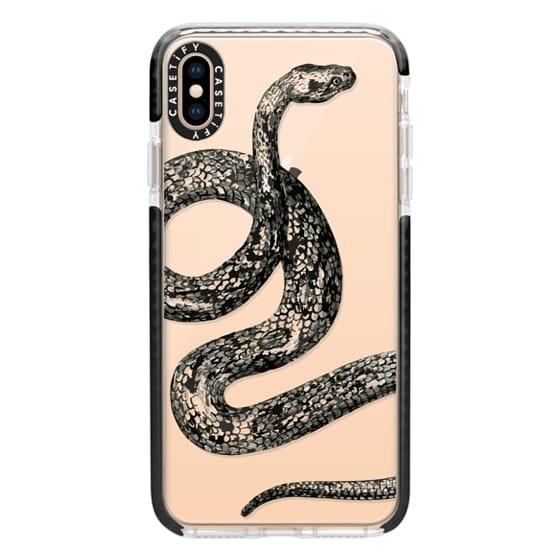 iPhone XS Max Cases - Vintage Snake