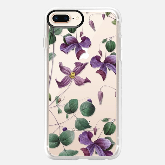 iPhone 8 Plus Case - Vintage Botanical - Wild Flowers
