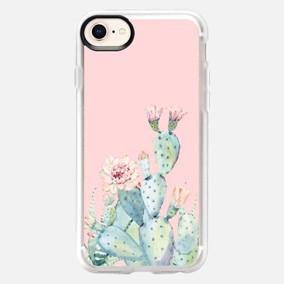 Pink Cactus - Snap Case