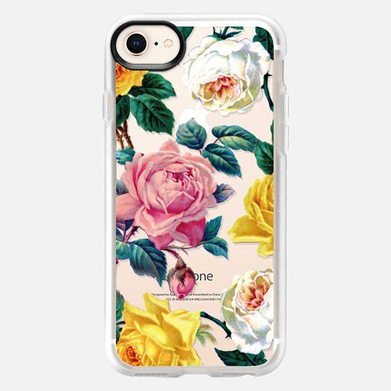 Vintage Botanicals - Spring Roses - Snap Case