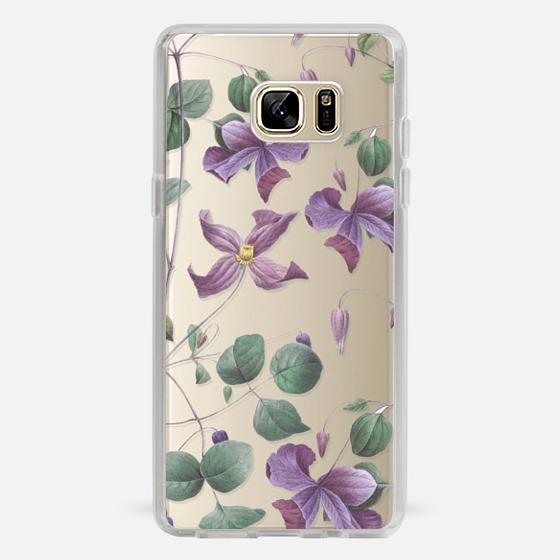 Galaxy Note 7 Case - Vintage Botanical - Wild Flowers