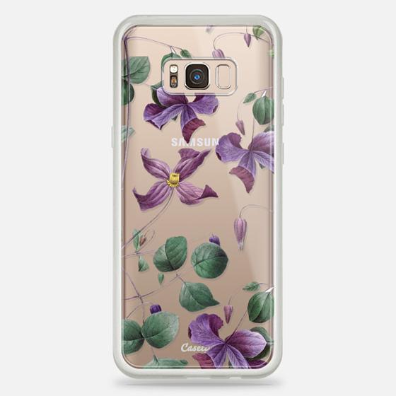 Galaxy S8+ Hülle - Vintage Botanical - Wild Flowers