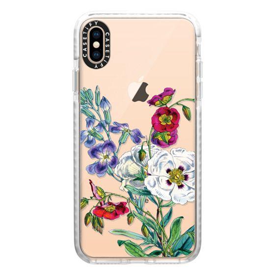 iPhone XS Max Cases - Vintage Botanicals - Spring Bouquet