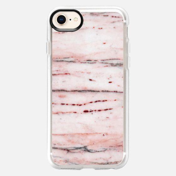 Basic Marble Rose - Snap Case