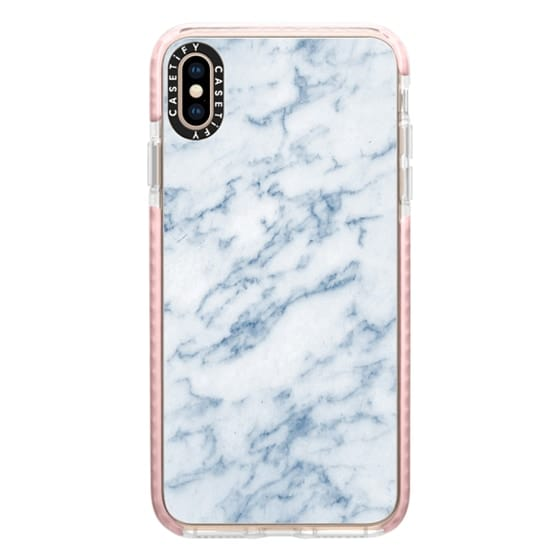 iPhone XS Max Cases - Marble Sienna