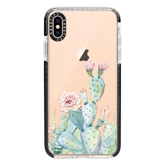 iPhone XS Max Cases - Cactus Fun