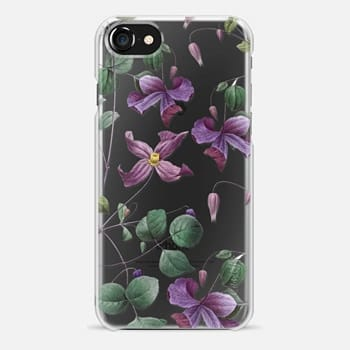 iPhone 7 Case Vintage Botanical - Wild Flowers