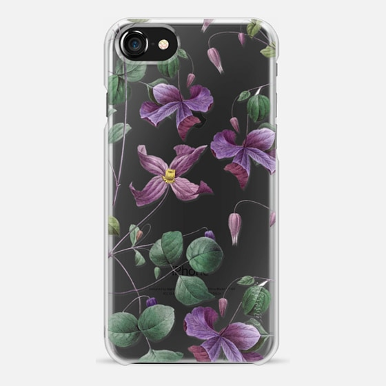 iPhone 7 Case - Vintage Botanical - Wild Flowers