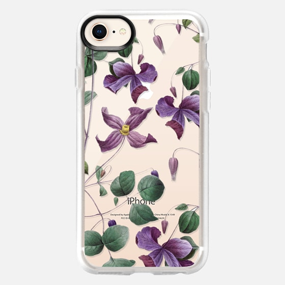 iPhone 8 Case - Vintage Botanical - Wild Flowers