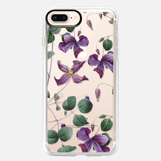 iPhone 8 Plus Hülle - Vintage Botanical - Wild Flowers