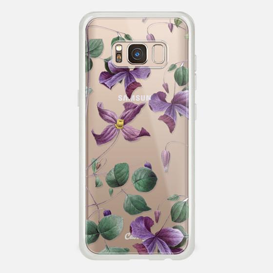 Galaxy S8 케이스 - Vintage Botanical - Wild Flowers