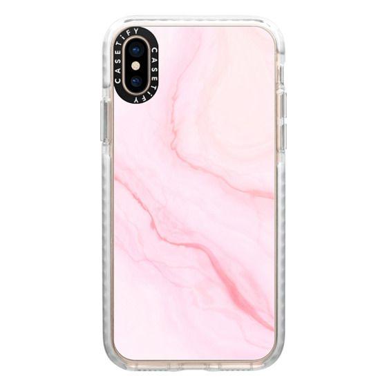 iPhone XS Cases - Pink Quartz