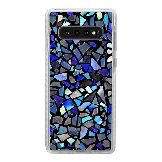 Samsung Galaxy S10 Cases - Deep Blue Crystal