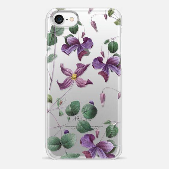 iPhone 7 Case - Vintage Botanical - Wild Flowers