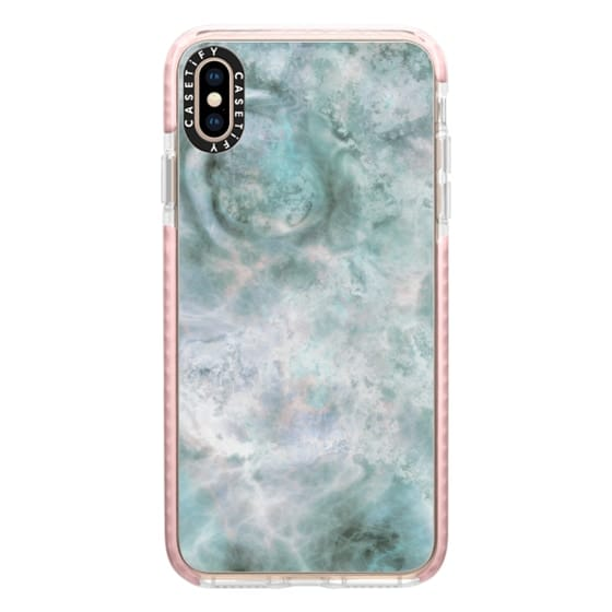 iPhone XS Max Cases - Galaxy Marble