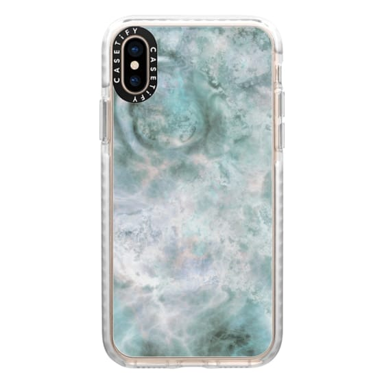 iPhone XS Cases - Galaxy Marble