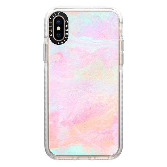 iPhone XS Cases - Neon Vibes