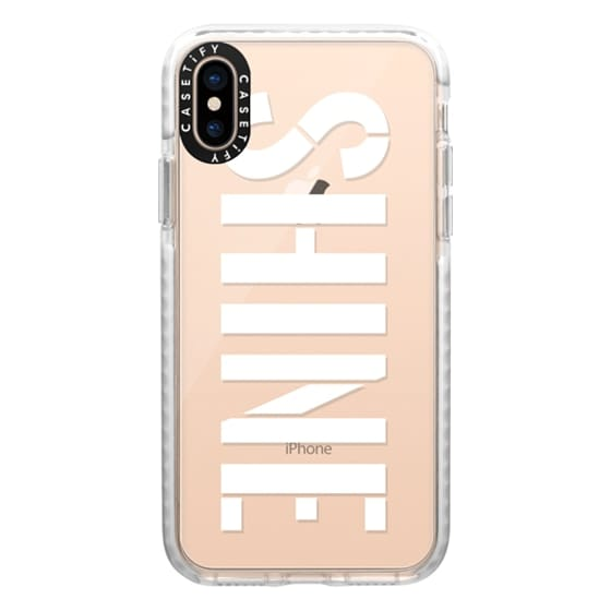 iPhone XS Cases - Shine