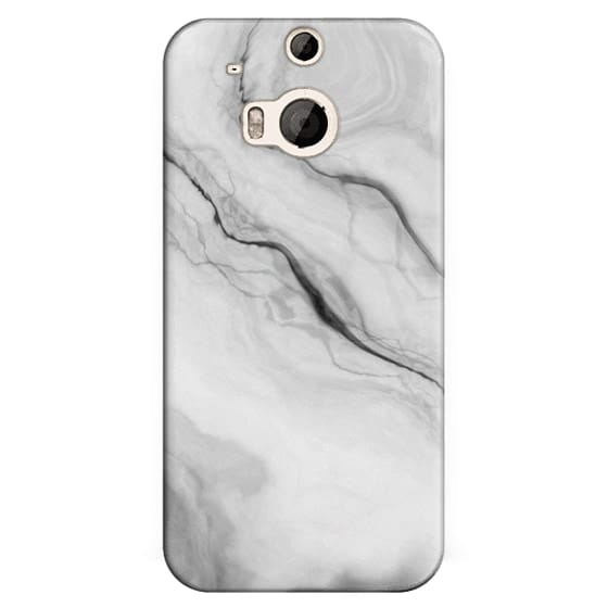 Htc One M8 Cases - Black Marble