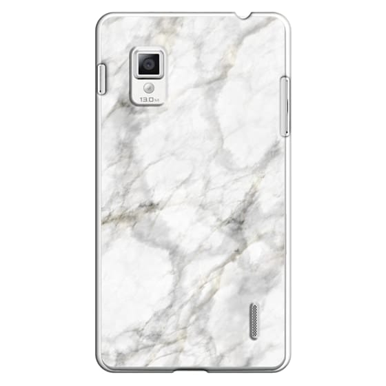 Optimus G Cases - White Marble