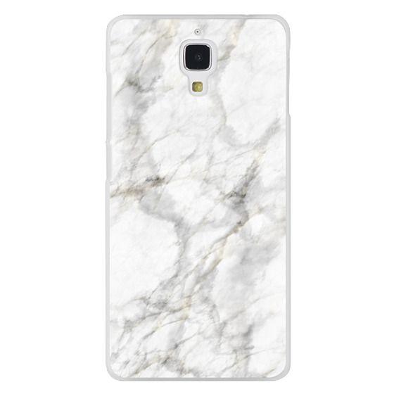 Xiaomi 4 Cases - White Marble