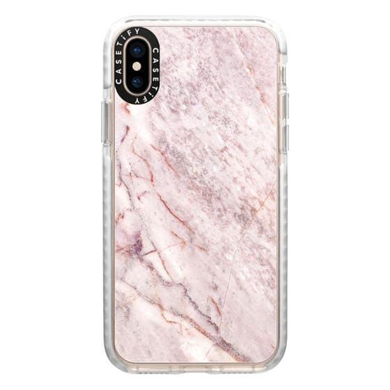 iPhone XS Cases - Pink Marble