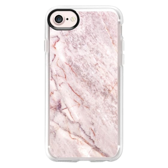 iPhone 7 Cases - Pink Marble