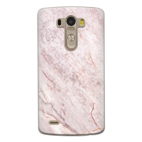 Lg G3 Cases - Pink Marble