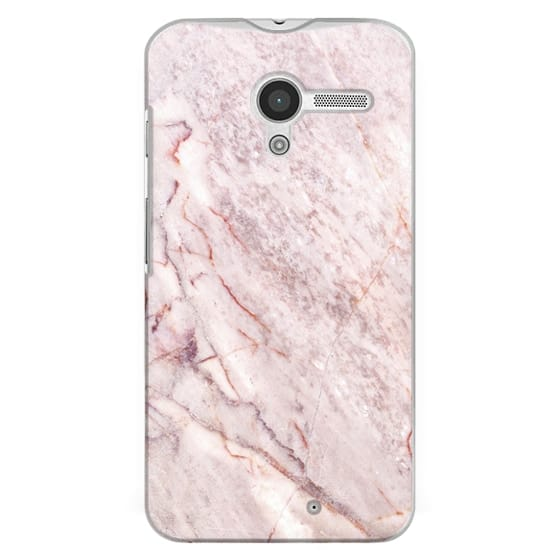 Moto X Cases - Pink Marble