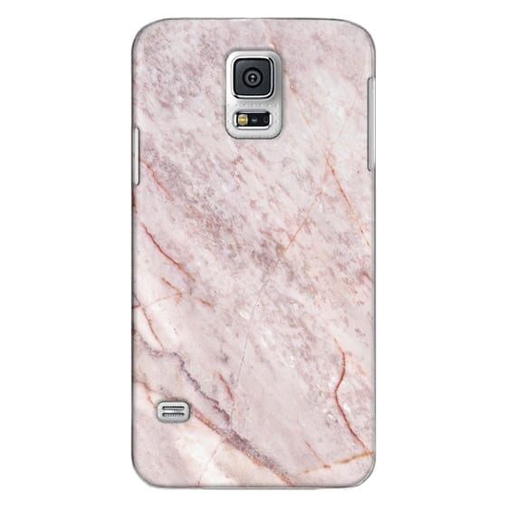 Samsung Galaxy S5 Cases - Pink Marble