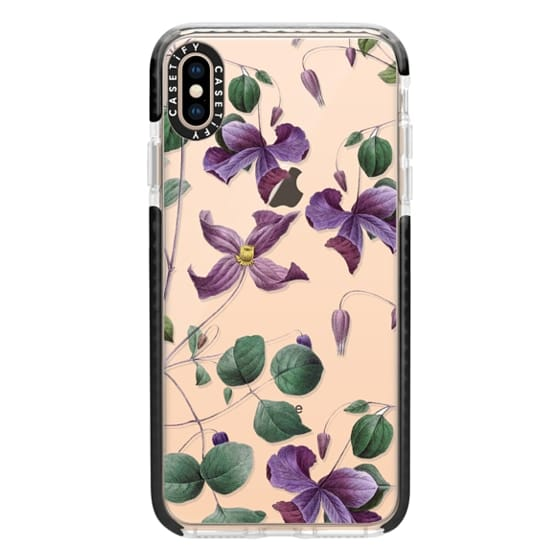 iPhone XS Max Cases - Vintage Botanical - Wild Flowers