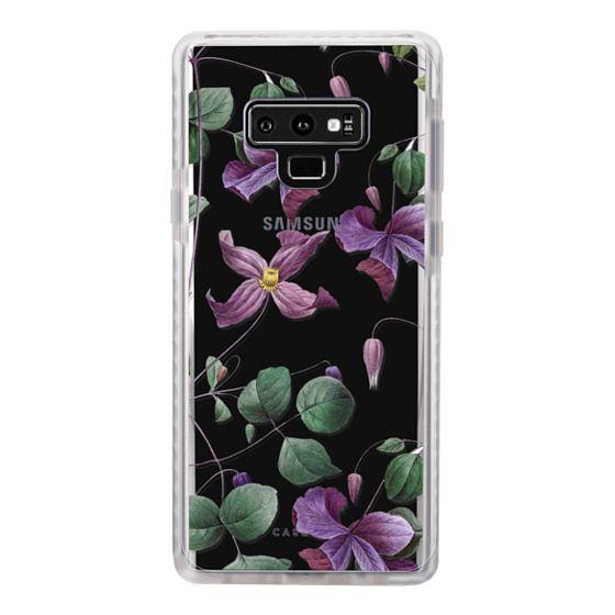 Samsung Galaxy Note 9 Cases - Vintage Botanical - Wild Flowers