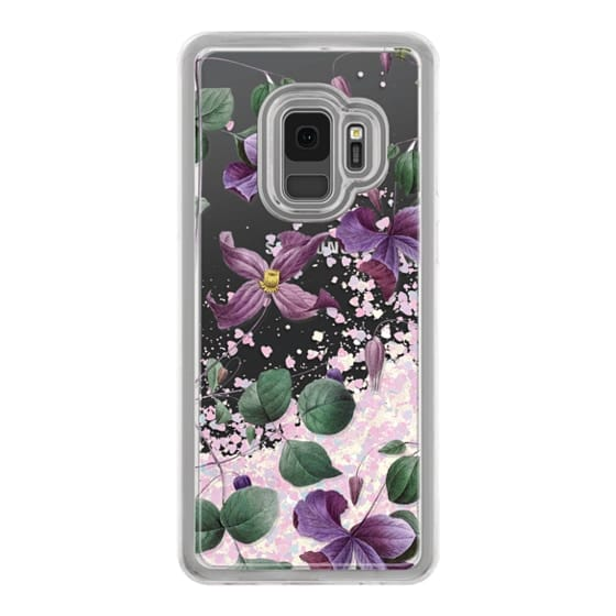 Samsung Galaxy S9 Cases - Vintage Botanical - Wild Flowers