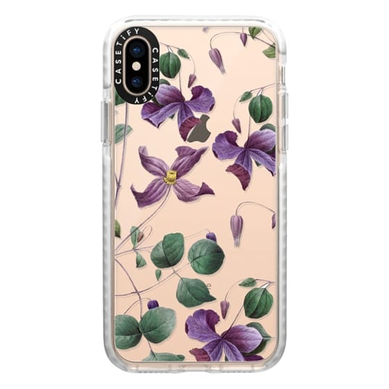 iPhone XS Cases - Vintage Botanical - Wild Flowers