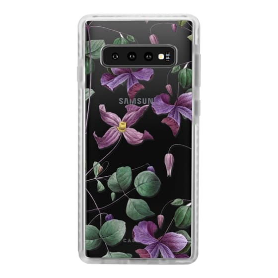 Samsung Galaxy S10 Cases - Vintage Botanical - Wild Flowers