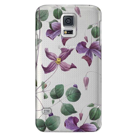 Samsung Galaxy S5 Cases - Vintage Botanical - Wild Flowers