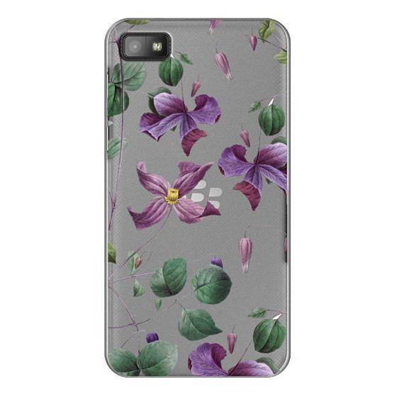 Blackberry Z10 Cases - Vintage Botanical - Wild Flowers