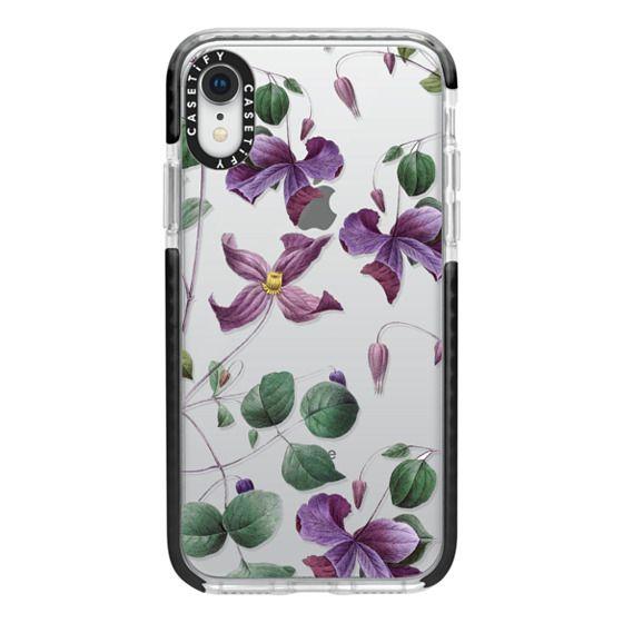 iPhone XR Cases - Vintage Botanical - Wild Flowers