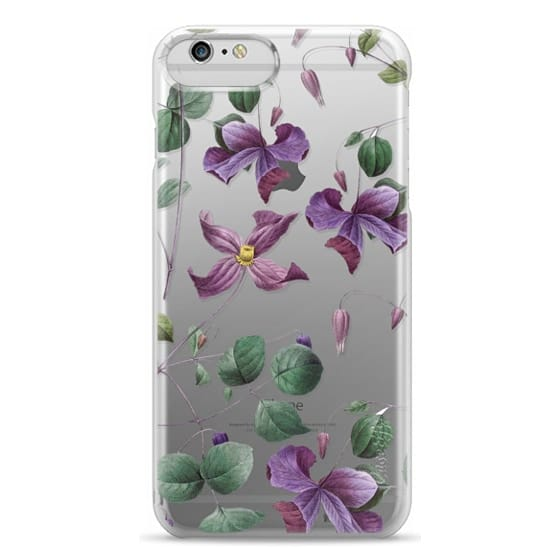 iPhone 6 Plus Cases - Vintage Botanical - Wild Flowers