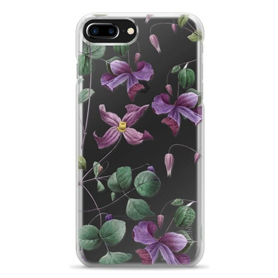 iPhone 7 Plus Cases - Vintage Botanical - Wild Flowers