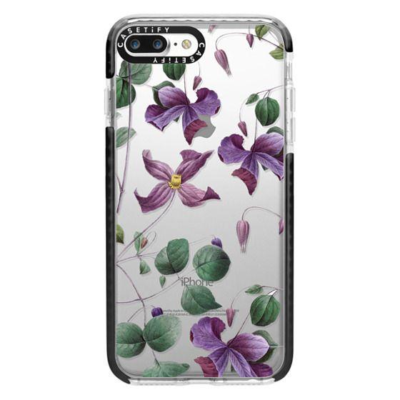 iPhone 7 Plus Cases - Vintage Botanical - Wild Flowers