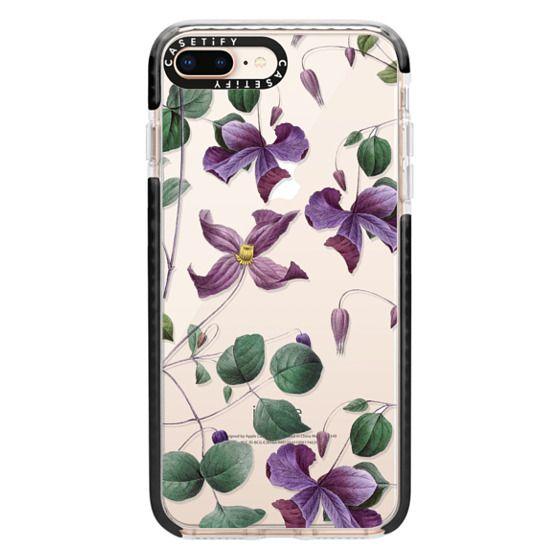 iPhone 8 Plus Cases - Vintage Botanical - Wild Flowers