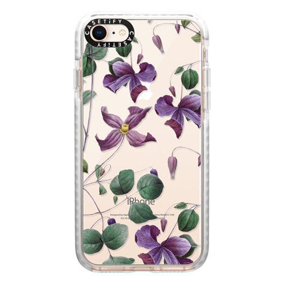iPhone 8 Cases - Vintage Botanical - Wild Flowers
