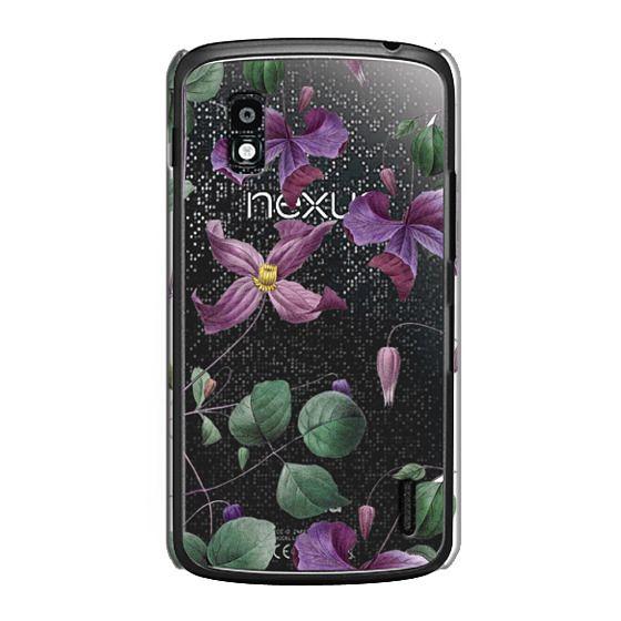 Nexus 4 Cases - Vintage Botanical - Wild Flowers