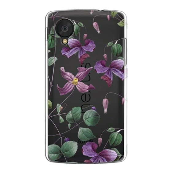 Nexus 5 Cases - Vintage Botanical - Wild Flowers