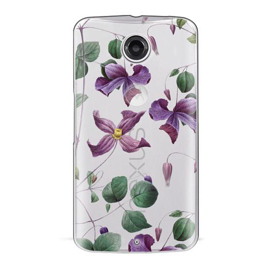 Nexus 6 Cases - Vintage Botanical - Wild Flowers