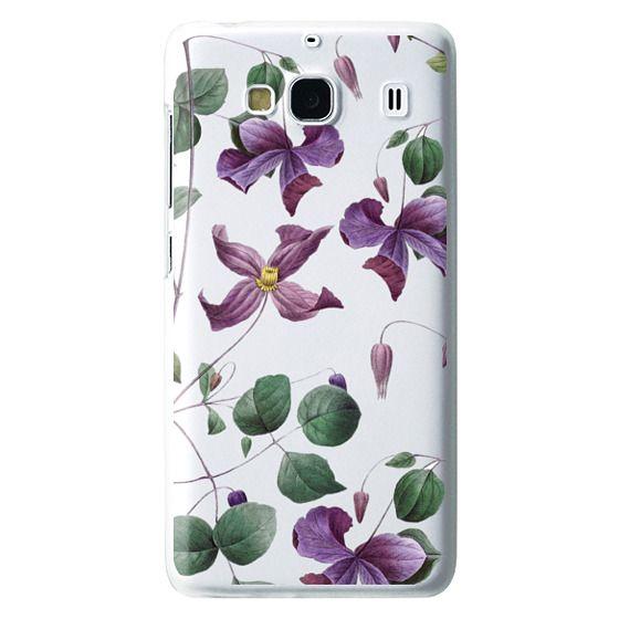 Redmi 2 Cases - Vintage Botanical - Wild Flowers